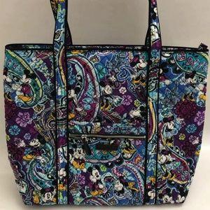 Vera Bradley Iconic Vera Tote Bag Mickey's Paisley